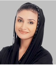 Her Excellency Najla Al Awadhi - Media speaker